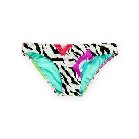 Raisins Womens Lowrider Bikini Swim Bottom, Brown, Small