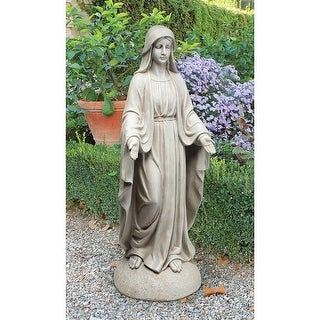 Design Toscano Madonna of Notre Dame Garden Statue: Grand