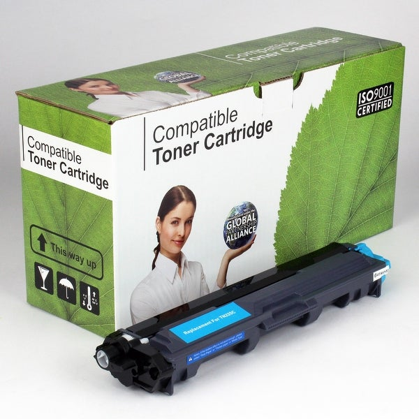 Value Brand replacement for Brother TN225C, TN225 Cyan Toner (2,200 Yield)