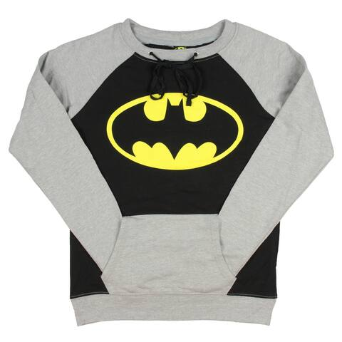 DC Comics Batman Classic Logo Long Sleeve Women's Pullover Shirt