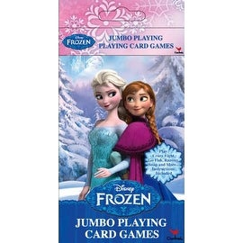 Disney Frozen Jumbo Playing Card Games (styles may vary)