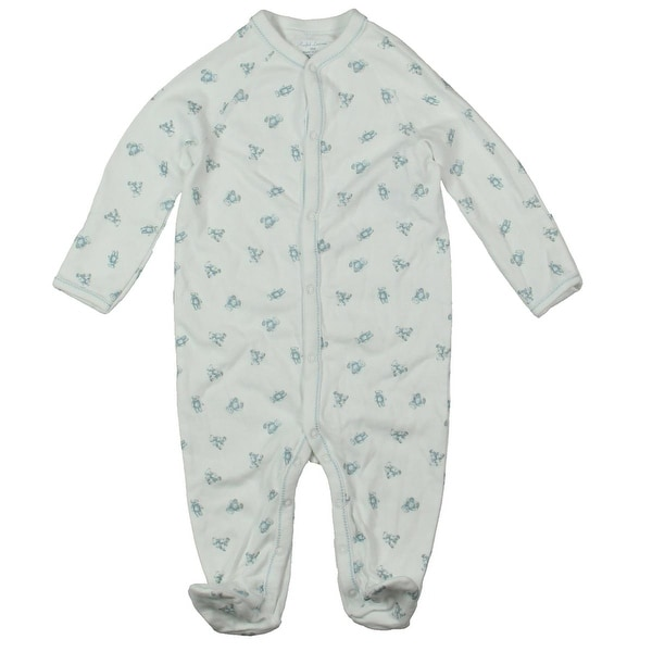 2b05da0bd Shop Ralph Lauren Footed Pajamas Printed Bear Infant Boys - 6 mo - Free  Shipping On Orders Over $45 - Overstock - 19528637