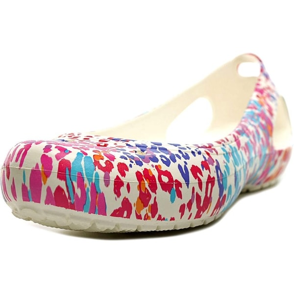 Crocs Kadee Women Round Toe Synthetic Multi Color Ballet Flats