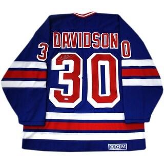 John Davidson New York Rangers Throwback Jersey