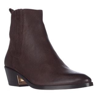 Michael Kors Patrice Flat Chelsea Boots - Chocolate