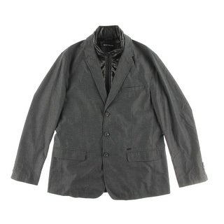 DKNY Jeans Mens 2 Fer Puffer Lined Sportcoat - XL