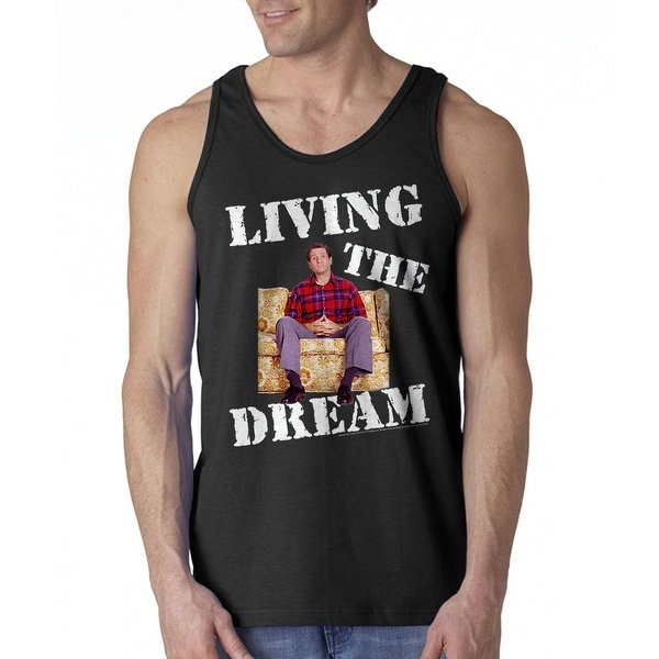 61bcd2e30b9fe8 Shop Married With Children Living Dream Men s Black Tank Top - On Sale -  Free Shipping On Orders Over  45 - Overstock.com - 21284078