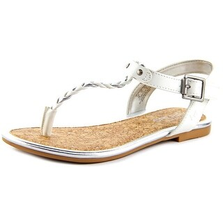 Sperry Top Sider Anchor Away Youth Open-Toe Synthetic White Slingback Sandal