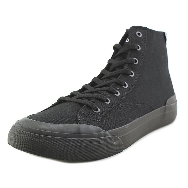 HUF Classic Hi Ess Men Round Toe Synthetic Black Sneakers