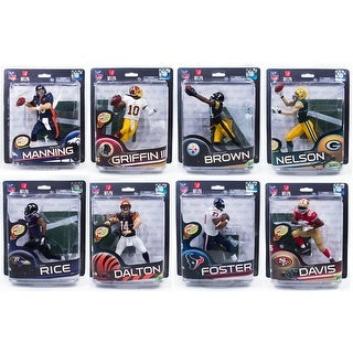 McFarlane NFL Series 32 Action Figure Assorted Sealed Case Of 8