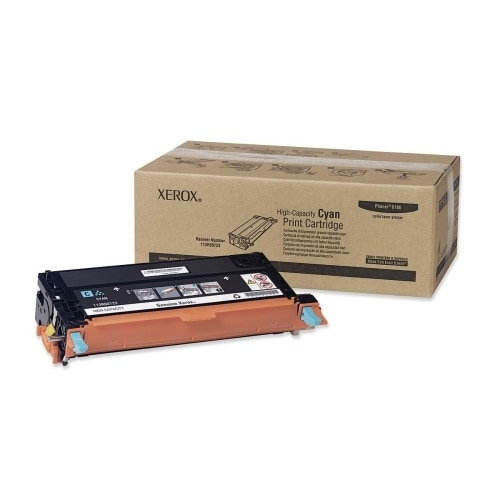 Xerox 113R00723 Xerox High Capacity Cyan Toner Cartridge - Cyan - Laser - 1 Each