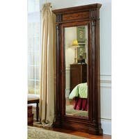 Hooker Furniture 500-50-558 40 Inch Wide by 85-1/4 Inch Tall Hardwood Jewelry Mi - Dark Wood - N/A