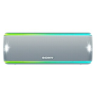 Sony SRS-XB31/W Portable Bluetooth Speaker (White)