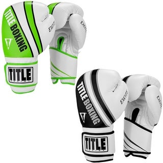 Title Boxing Infused Foam Excite Hook and Loop Training Gloves