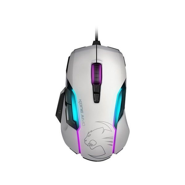 Roccat Inc. - Roccat Kone Aimo - Rgba Smart Customization Gaming Mouse, White