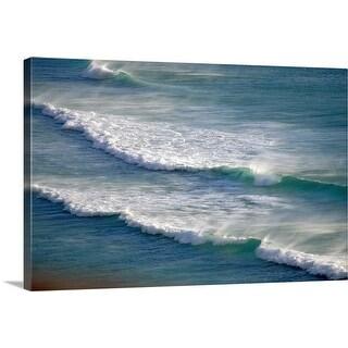 """Ocean surf"" Canvas Wall Art"