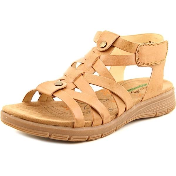 Baretraps Jevin Women Open Toe Synthetic Brown Gladiator Sandal
