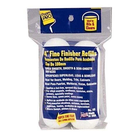 """Foampro 165 Fine Finish Roller Refills 4"""""""