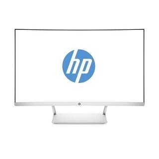 "Refurbished - HP 27 Curved Display 27"" diagonal 300nits 1920x1080 5ms HDMI Display Port"