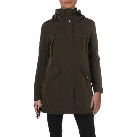 Andrew Marc Womens Grayce Anorak Jacket Winter Insulated