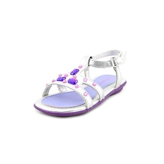 Jumping Jacks Crystal W Open-Toe Synthetic Slingback Sandal