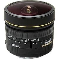 Sigma 8mm f/3.5 EX DG Circular Fisheye Lens for Nikon F (International Model) - black