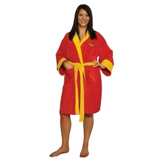 DC Comics Wonder Woman Ladies Cotton Robe