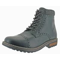 "Crevo Quebec Men's 6"" Leather Winter Boots"
