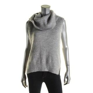 MICHAEL Michael Kors Womens Sweater Cowl Neck Sleeveless