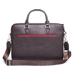 13.3 Laptop Bag slim Lightweight Briefcase for up to 14-Inch Computer  - 'Pintta' Brown