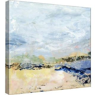 """PTM Images 9-97848  PTM Canvas Collection 12"""" x 12"""" - """"Coastal Seascape 1"""" Giclee Abstract Art Print on Canvas"""