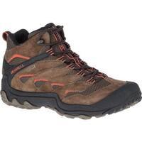Merrell Men's Chameleon 7 Limit Mid Waterproof Hiking Boot Merrell Stone Suede/Mesh