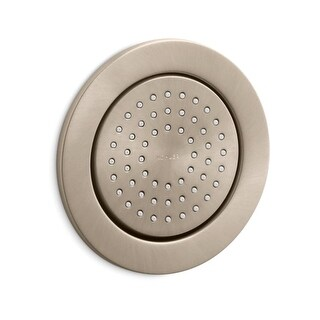 Kohler K-8014 Traditional Round 54 Nozzle MasterClean Fixed Body Spray from WaterTile Collection