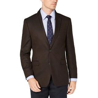 Link to Tommy Hilfiger Mens Trevor Modern-Fit Herringbone Sportcoat 38 Long Brown Similar Items in Sportcoats & Blazers