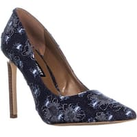 Nine West Tatiana Pointed Toe Dress Pumps, Blue