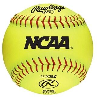 "Rawlings NCAA 12"" Training Softball (12 Count)"