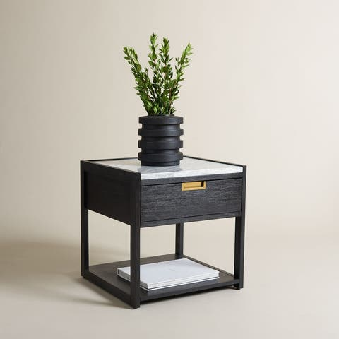 SAFAVIEH Couture Adeline 1 Drawer Nightstand