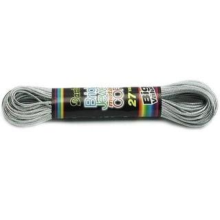 Darice Plastic Canvas Cord Met 27Yd Silver