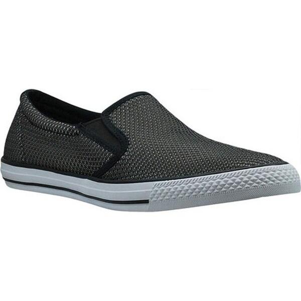 148281eace3bf Shop Burnetie Men's Skid II Slip On Black/Grey Textile - On Sale ...