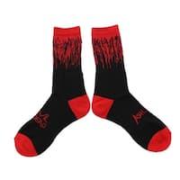 Ash vs Evil Dead Men's Crew Socks, One Pair - Red