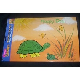 Starter Strokes for Kids Turtle Reusable Paint Mat