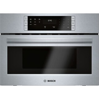 Bosch HMB57152UC 27 Inch Wide 1.6 Cu. Ft. Built In Microwave with Automatic Sensor Programming