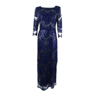 Tahari ASL Women's Boat-Neck Sequin Chiffon Gown - Navy|https://ak1.ostkcdn.com/images/products/is/images/direct/f676bf5153c8c4a943987203cda7ad4ef56ce993/Tahari-ASL-Women%27s-Boat-Neck-Sequin-Chiffon-Gown.jpg?impolicy=medium