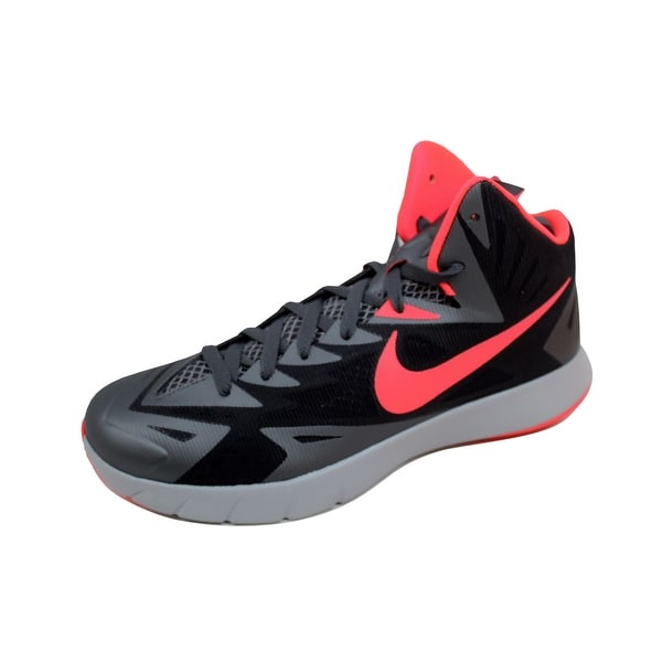 Nike Men's Lunar Hyperquickness Black/Hyper Punch-Dark Grey-Wolf Grey 652777-060