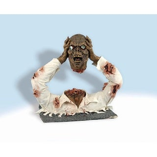"Latex Headless Zombie Halloween Prop Decoration 20""H x 19""L"