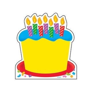 Note Pad Birthday Cake 50 Sht 5X5