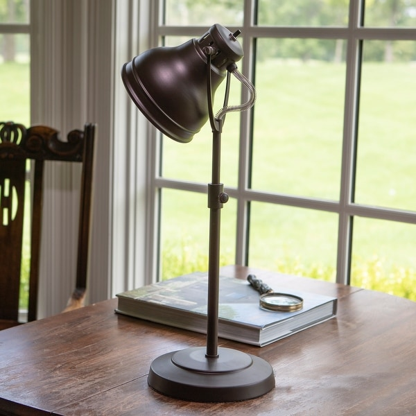 Desk Task Table Lamp with Adjustable Shade. Opens flyout.