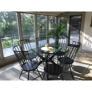Truman High Back Windsor Classic Dining Chair (Set of 2) iNSPIRE Q Modern
