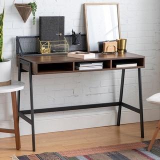 "Carbon Loft 42"" Mesh Back Writing Desk"