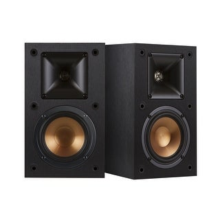 Klipsch R-14M Black Bookshelf Speakers - Pair